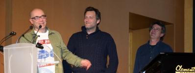 45 Axier Salazar, Ismael Issa i Israel Sánchez, pastisset d'ametla